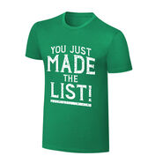 Chris Jericho You Just Made The List! St. Patrick's Day T-Shirt
