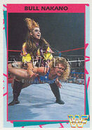 1995 WWF Wrestling Trading Cards (Merlin) Bull Nakano 92