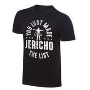 Chris Jericho You Just Made The List Vintage T-Shirt