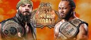 RoH BITW 2015 RoH World Title vs RoH World TV Title (Jay Briscoe vs Jay Lethal)