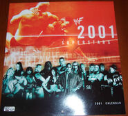 2001 WWF Superstars Calendar