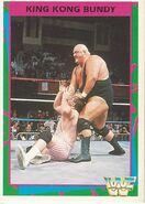 1995 WWF Wrestling Trading Cards (Merlin) King Kong Bundy 162