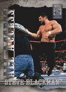 2002 WWF All Access (Fleer) Steve Blackman 38