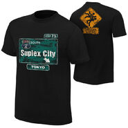 Brock Lesnar Suplex City Tokyo Authentic T-Shirt