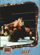 2002 WWE Absolute Divas (Fleer) Jazz 44