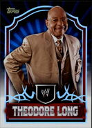 2011 Topps WWE Classic Wrestling Theodore Long 66