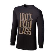 Becky Lynch 100% Bad Lass Youth Long Sleeve T-Shirt