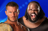 Match World Heavyweight Champion Randy Orton vs. Mark Henry (Title Match)