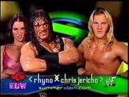 Rhyno vs Chris Jericho