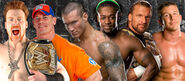 EC10 John Cena vs. Sheamus vs Triple H vs. Randy Orton vs. Ted DiBiase vs. Kofi Kingston
