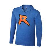 Ryback Feeding Time Tri-Blend Long Sleeve Hooded Shirt