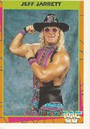 1995 WWF Wrestling Trading Cards (Merlin) Jeff Jarrett 23
