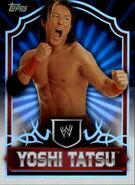 2011 Topps WWE Classic Wrestling Yoshi Tatsu 76