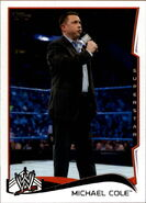 2014 WWE (Topps) MIchael Cole 32