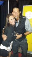 Shanna & WWE Adam Rose