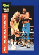 1991 WWF Classic Superstars Cards Jake Roberts 127