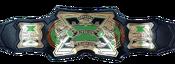 TNA X Division Championship Green