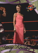 2004 WWE Divas 2005 (Fleer) Stacy Keibler 17
