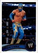 2011 WWE (Topps) Sin Cara 75