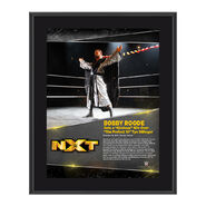 Bobby Roode TakeOver Toronto 10 x 13 Commemorative Photo Plaque