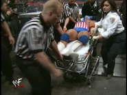 Royal Rumble 2000 Kurt on a Stretcher