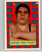 1987 WWF Wrestling Cards (Topps) Sticker Andre The Giant 17