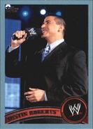 2011 WWE (Topps) Justin Roberts 59