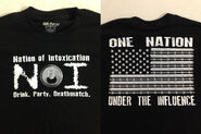 Nation of Intoxication One Nation Under The Influence T-Shirt