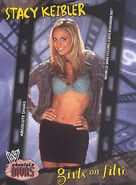2002 WWE Absolute Divas (Fleer) Stacy Keibler 84