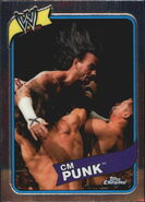 2008 WWE Heritage III Chrome Trading Cards CM Punk 27