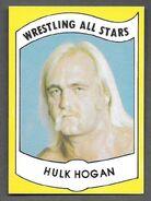 1982 Wrestling All Stars Series A and B Trading Cards Hulk Hogan (No.2)
