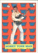1987 WWF Wrestling Cards (Topps) Sticker Honky Tonk Man 10