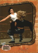 2002 WWE Absolute Divas (Fleer) Molly 43