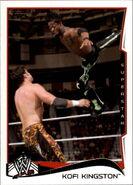 2014 WWE (Topps) Kofi Kingston 29