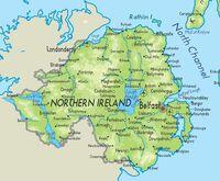 Northern Ireland Map