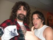 James Dunn & Mick Foley