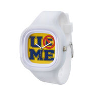 John Cena U Can't C Me Flex Watch - white