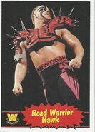 2012 WWE Heritage Trading Cards Hawk 101
