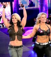 Kaitlyn and Natalya