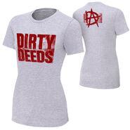 Dean Ambrose Dirty Deeds Women's Authentic T-Shirt