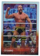 2015 Chrome WWE Wrestling Cards (Topps) Cesaro 14