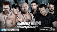 EC 2013 Cena, Sheamus, Ryback v Shield