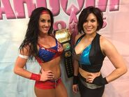 Melina and Santana