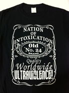 Nation of Intoxication Ultraviolent Brand T-Shirt