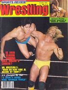 Sports Review Wrestling - October 1980