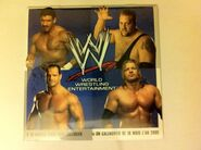 WWE Wrestling 2005, French Calendar