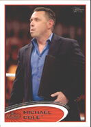 2012 WWE (Topps) Michael Cole 43