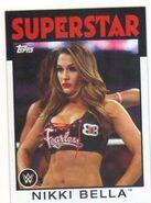 2016 WWE Heritage Wrestling Cards (Topps) Nikki Bella 50