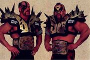 LOD - WWF World Tag Team Champions