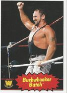 2012 WWE Heritage Trading Cards Bushwhacker Butch 66